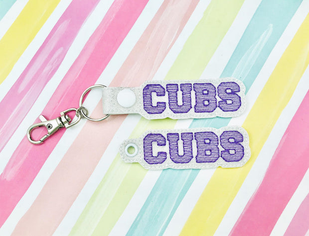 Cubs Snap Tab and Eyelet Set- Read Description