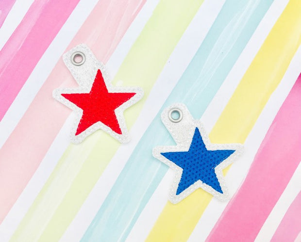 Star Zipper Pulls