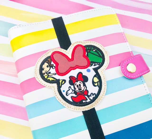 Bow Mouse Applique Planner Band