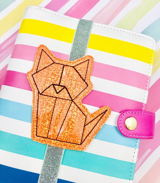 Origami Cat Planner Band