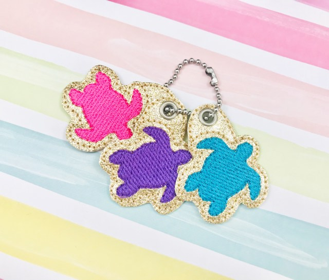 Sea Turtle Zipper Pulls