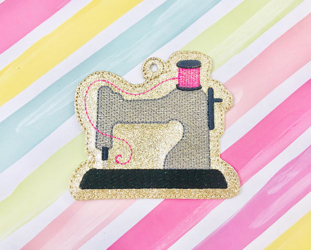 Sewing Machine Ornament/Bookmark