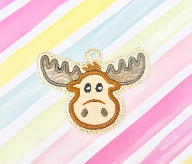 Moose Applique Ornament