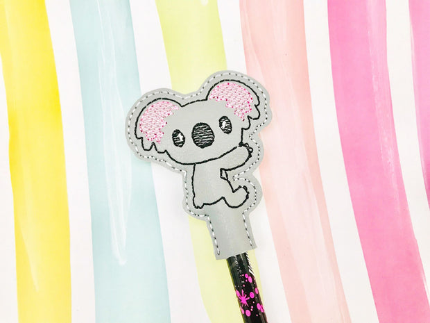 Sketchy Koala Pencil Topper