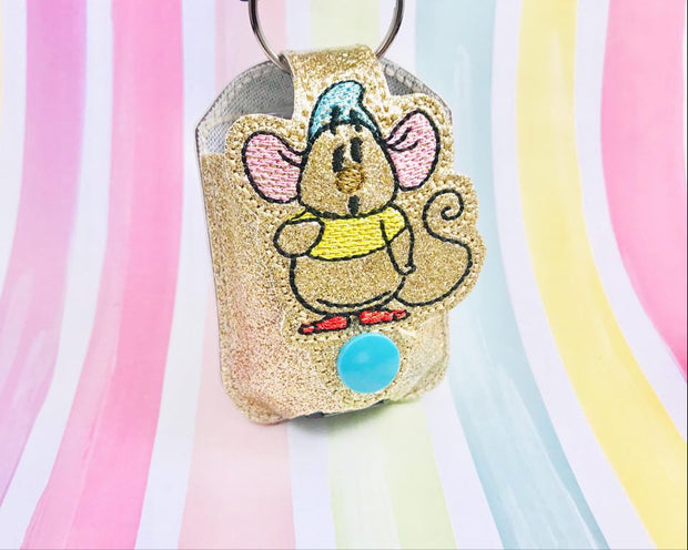 Sketchy GusM 1oz Applique Sanitizer Holder