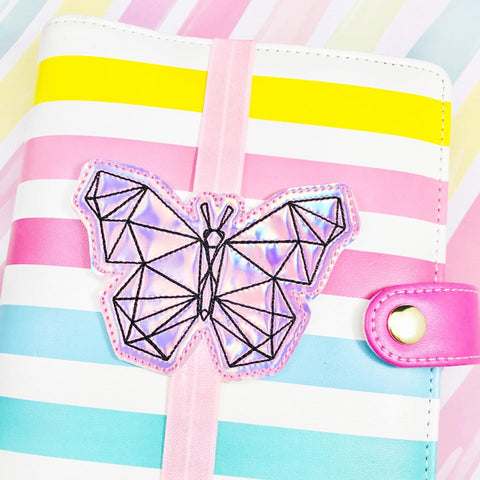 Geo Butterfly Planner Band