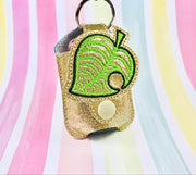 Fill Leaf 1 Applique 1oz Sanitizer Holder