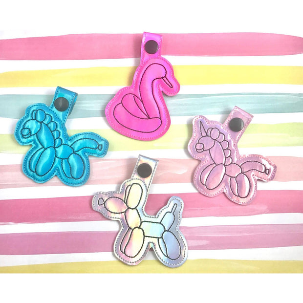 Balloon Animals Snap Tab Set