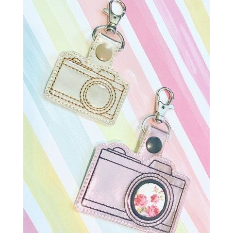 Camera Applique Snap Tab Set
