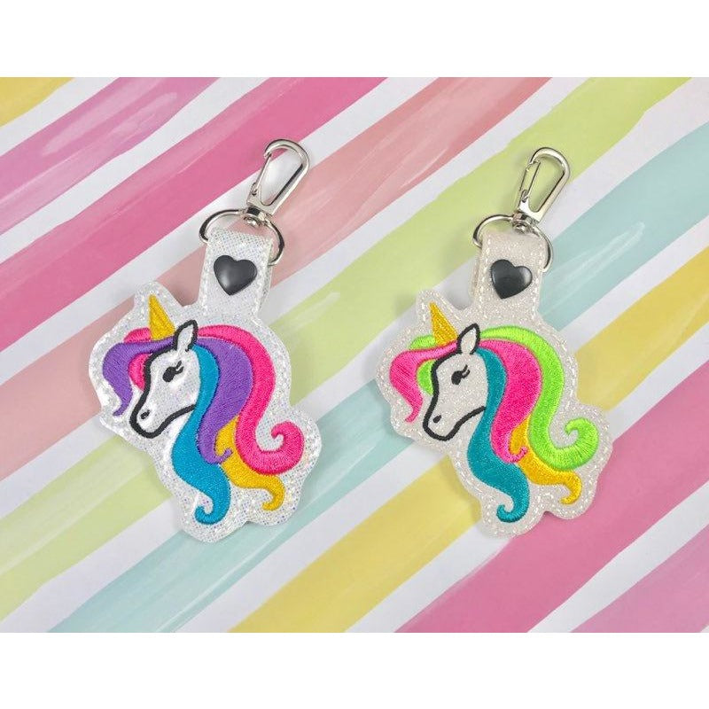 Unicorn Eyelashes Snap Tab