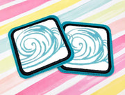Applique Drink Coasters 1- Read Description