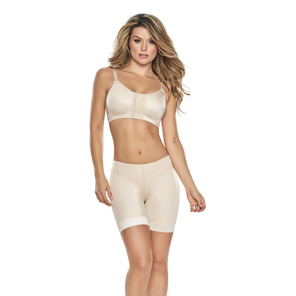 hourglass figure multitasking support bra in nude color 3