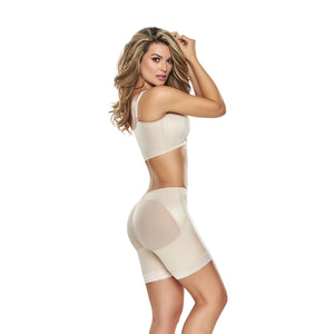 hourglass_figure butt lifter shaper short in nude color 1