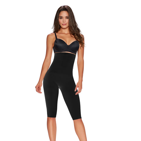 hourglass_figure high waist thigh trimmer black 1
