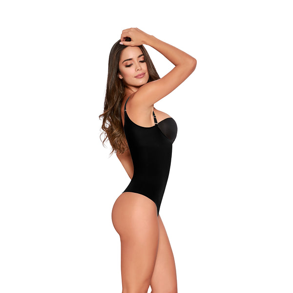 hourglass figure slimming romper black 3