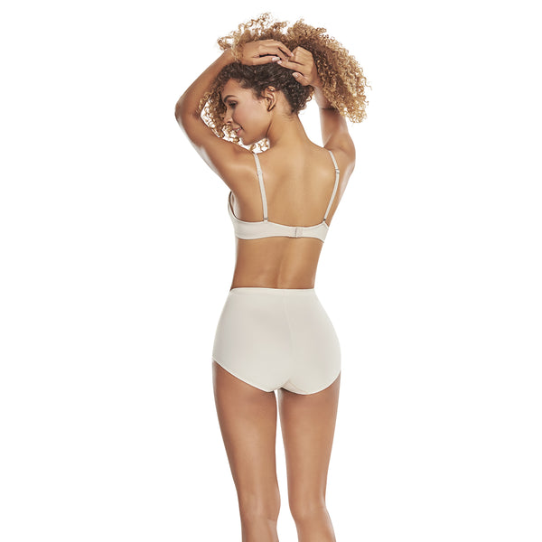 hourglass_figure high waist control panty with butt lifter benefits in nude color 3
