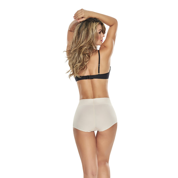 hourglass_figure high waist comfy control panty in nude color 2