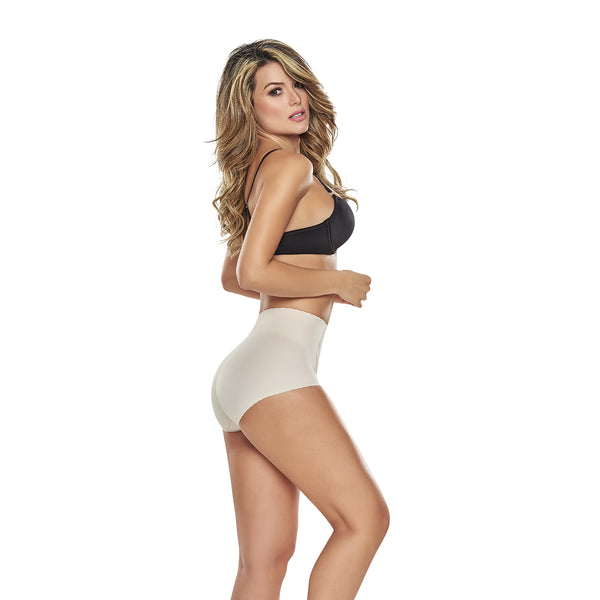 hourglass_figure high waist comfy control panty in nude color 3
