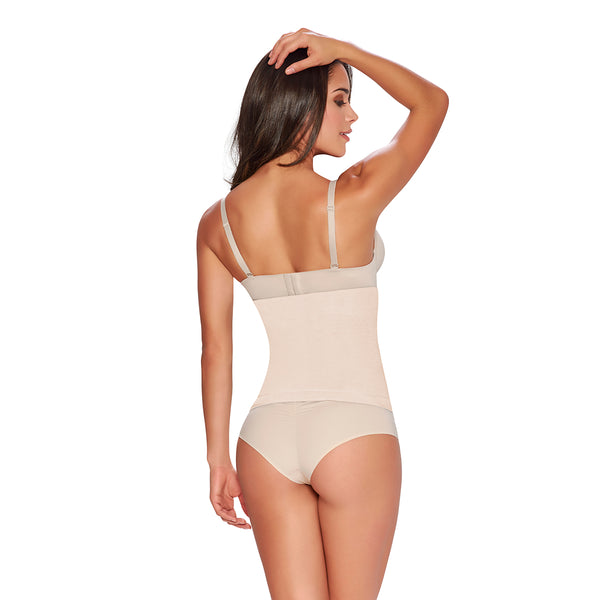 hourglass_figure firm control seamless waist nipper in nude color 2