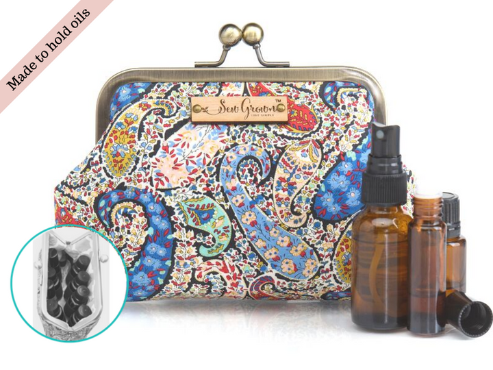 Bourton 8 Bottle Essential Oil Case
