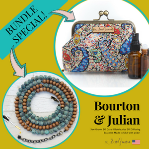 Sew Grown Bundle (Bourton 8 Bottle plus Julian Sandalwood Bracelet)