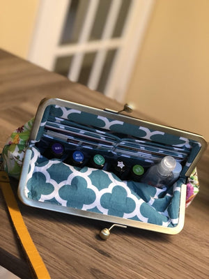 Sew Grown EO Purse - Fuchsia Drop