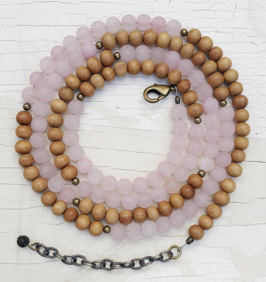 Sew Grown EO Diffusing Bracelet/Necklace - Harmony Sandalwood