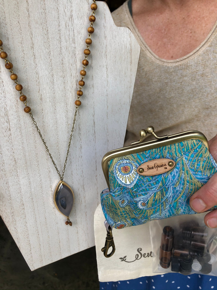 Facebook Auction Special - Druzy crystal, peacock key chain, bottles, cotton bag
