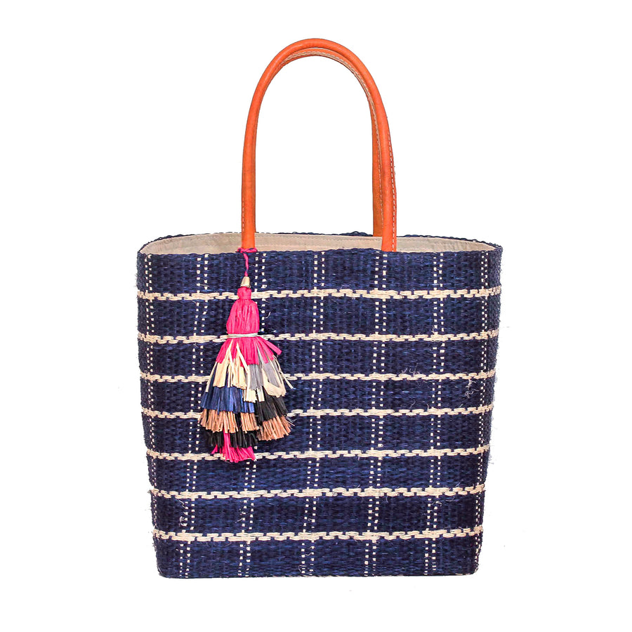 The Santa Barbara Tote - Blue