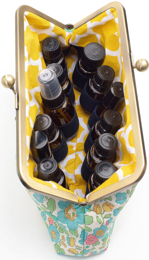 Strawberry Thief 12 Bottle Essential Oil Case