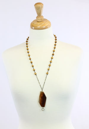 Brown Agate Pendant