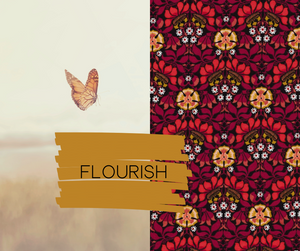 Flourish Essential Oil Purse - Sew Grown Limited