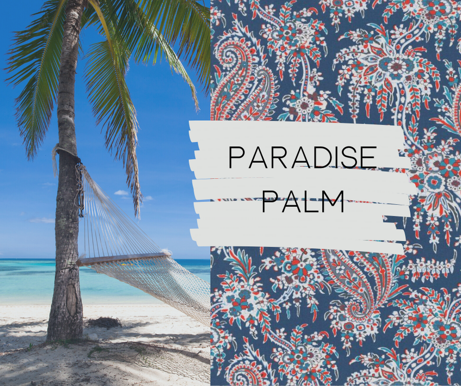 Paradise Palm Essential Oil Purse - Sew Grown Limited