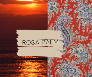 Rosa Palm Essential Oil Purse - Sew Grown Limited