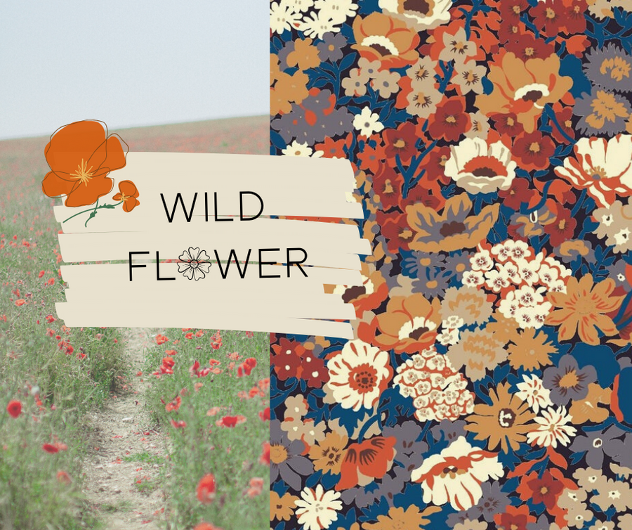 Wild Flower Handbag - Sew Grown Limited