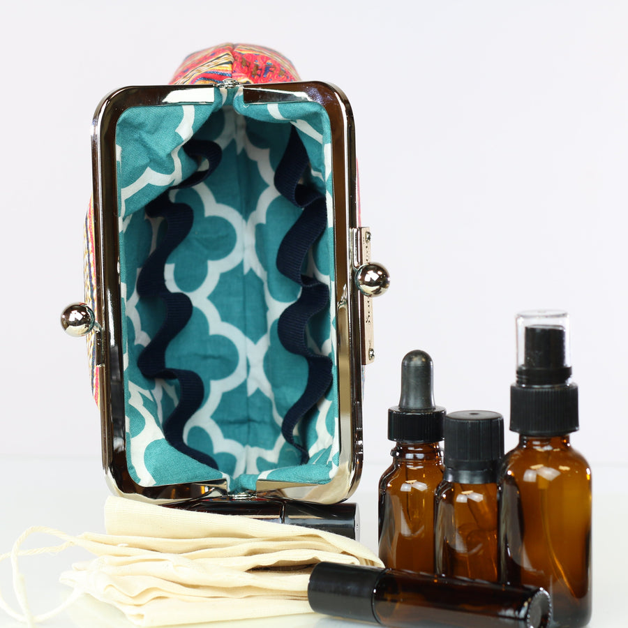 Madeline 8 Bottle Essential Oil Case
