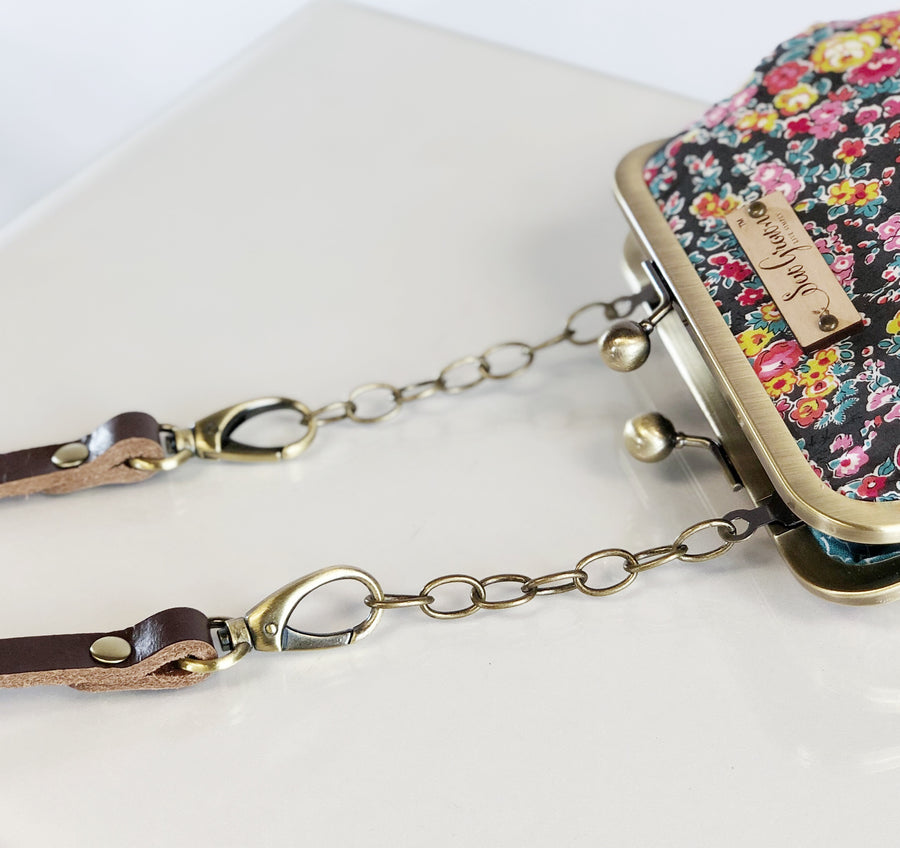 Floral Fireworks Large Crossbody