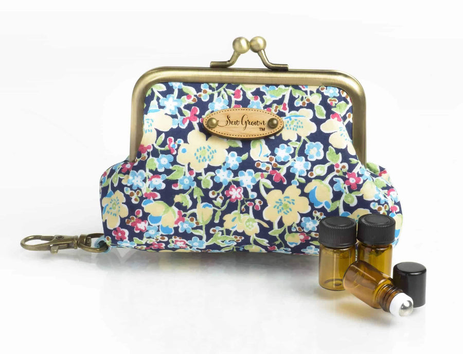 essential oil key chain case
