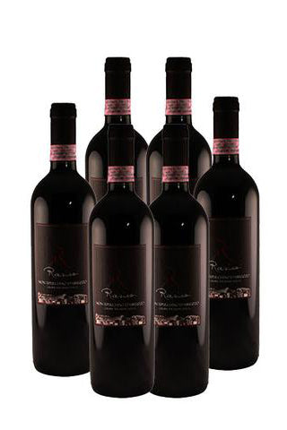Natural Red Wine 2012 Rasicci Montepulciano D'Abruzzo – D.O.C.G  *12 Bottles*