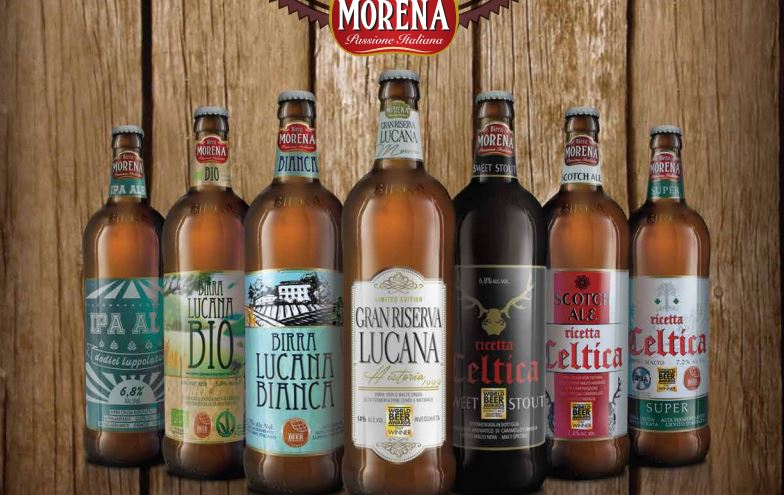 Birra Morena Lucana Blonde 4.5% AWARDED