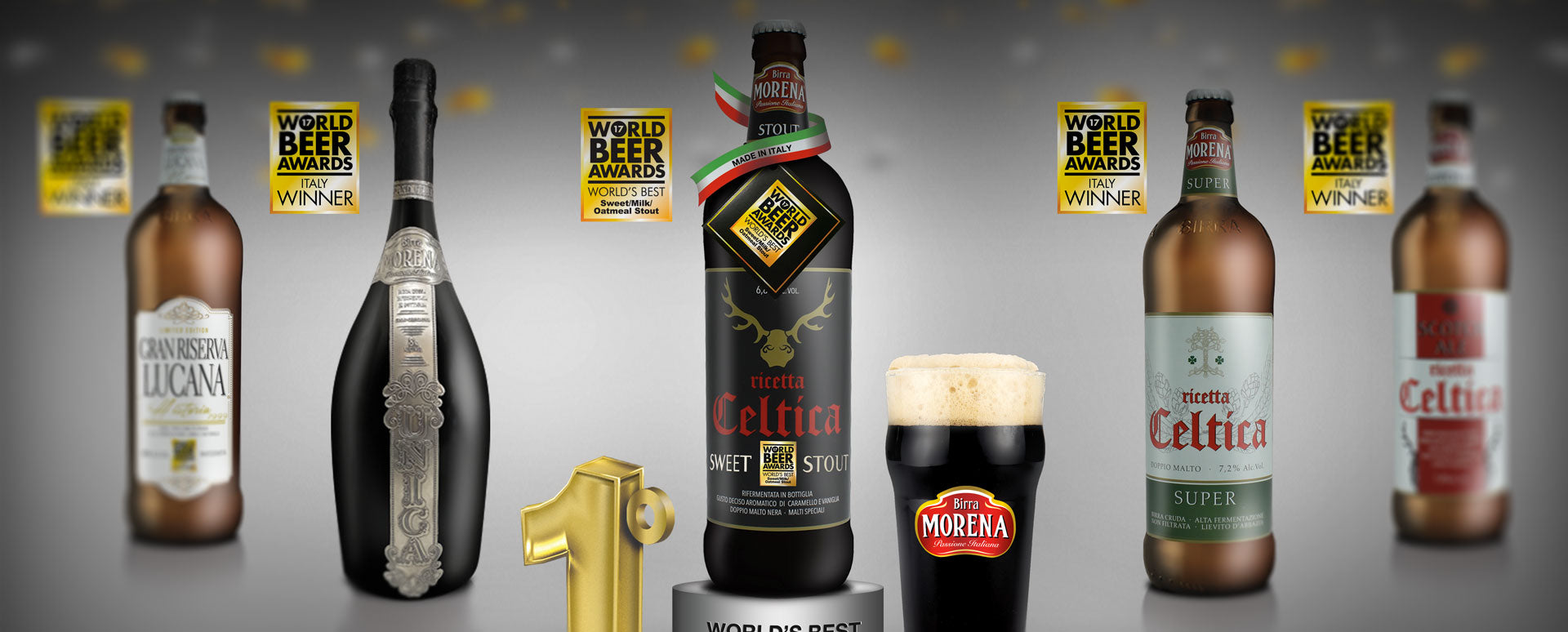 Birra Morena Celtica Super 7.2 % - AWARDED