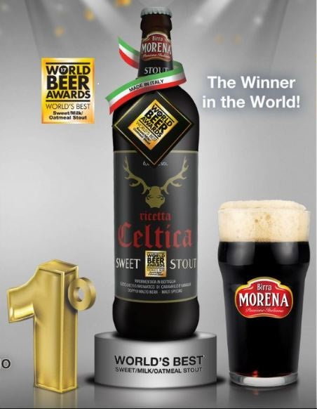 Birra Morena Celtica - Sweet Stout 6.8 % AWARDED