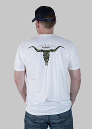 White Longhorn Shirt