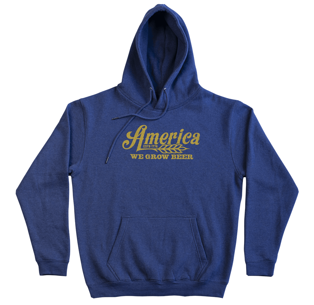 America We Grow Beer Pullover