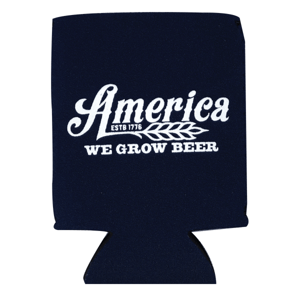 America We Grow Beer Can Sleeve