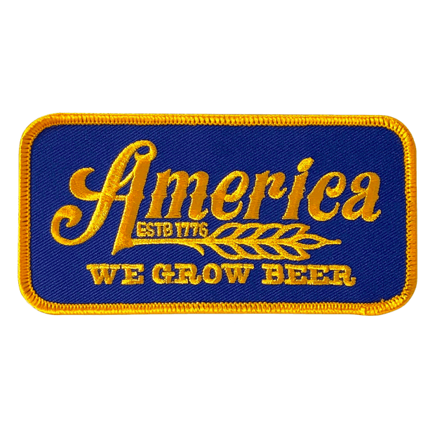 We Grow Beer Patch