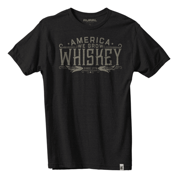 America We Grow Whiskey Tee
