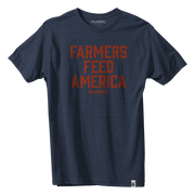 Farmers Feed America Tee + We Grow Beer Blue Ribbon Cap + Decal Pack Discounted Bundle