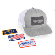 QUAD Hat & 3 Interchangeable Patches - Classic