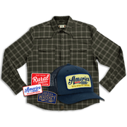 Olive Flannel Bundle
